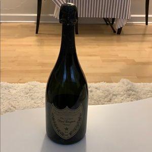 Vintage dummy Dom Perignon bottle